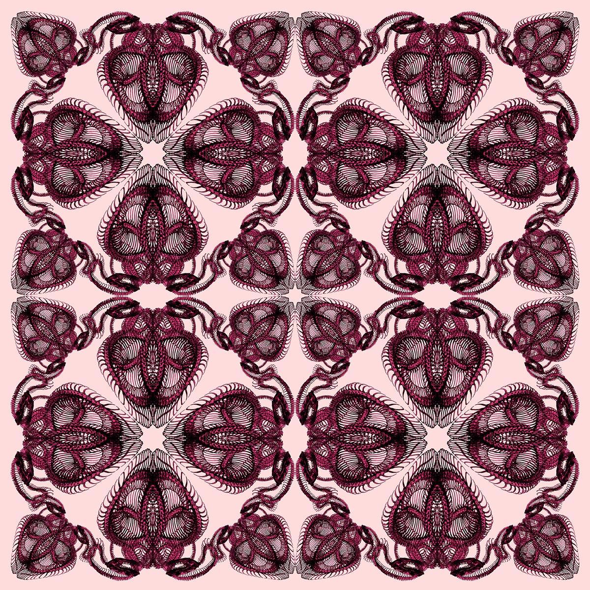 Snake_Charmer_design_scarf