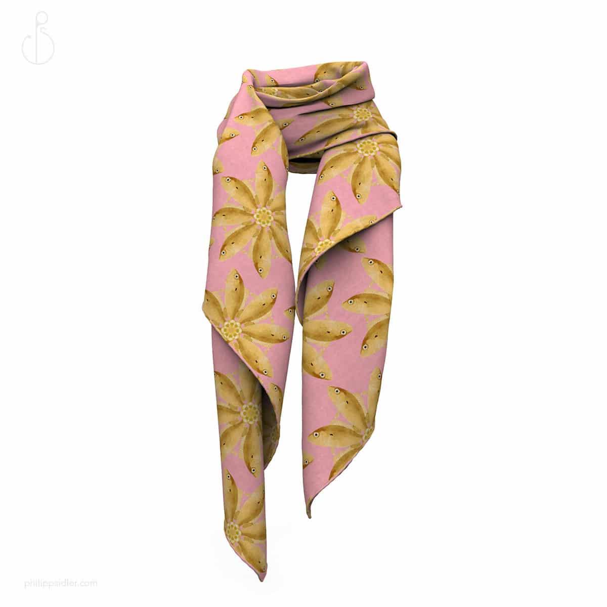 goldfish-scarf-folded